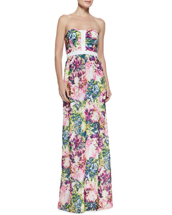 Bentley Floral-Print Maxi Dress