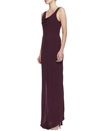 Shae Draped Maxi Dress