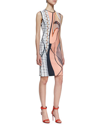 Palm Springs Sleeveless Dress