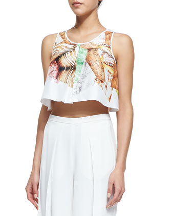 Canyon Rocks Crop Top