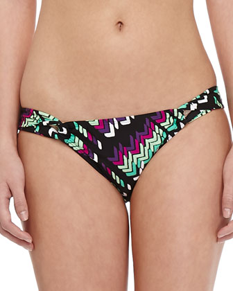 Villa Belrose Twisted Bandeau Top & Swim Bottom