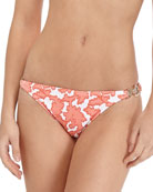 Reef-Print Ring-Side Swim Bottom