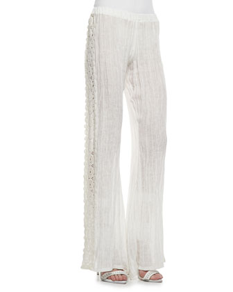 Montana Lace-Side Pants