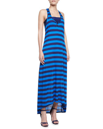 Marcel Striped Racerback Maxi Dress