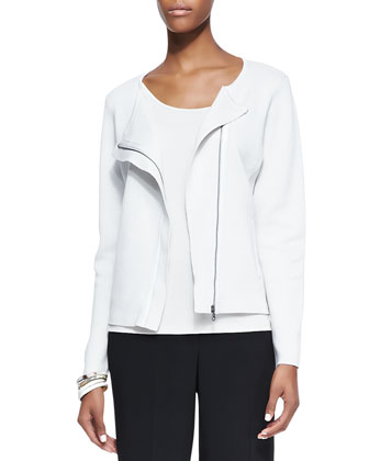 Silk-Cotton Short Jacket
