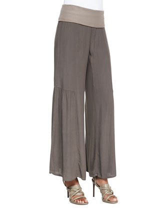 Agate Wide-Leg Pants