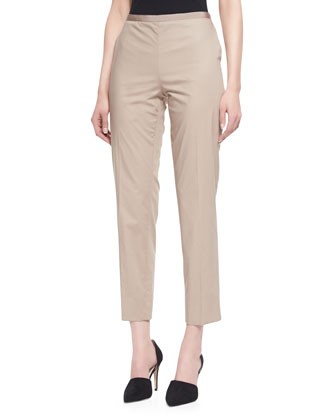 Twill Side Zip Pants