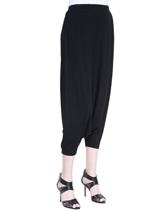 Harem Lightweight Pants, Black