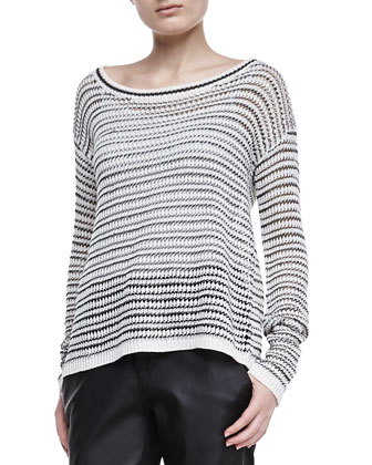 Ethan Striped Knit Sweater