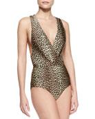 Instinct Tuck One-Piece Swimsuit