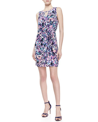 Yasmine Floral Printed Shift Dress