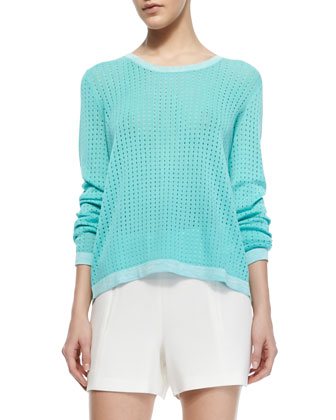 Arianna Knit Long-Sleeve Pullover