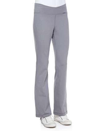 Organic Cotton Yoga Pants, Petite