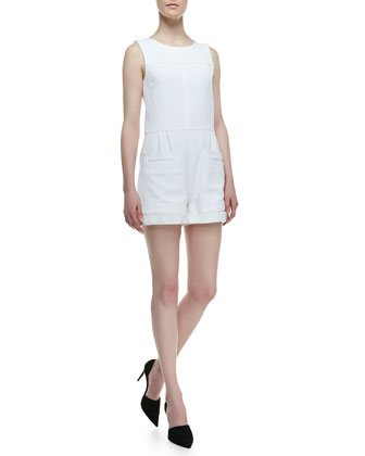 Hadrine Sleeveless Romper
