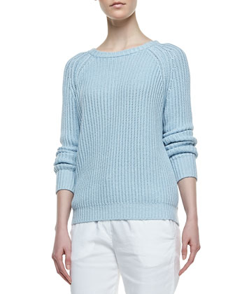 Brombly Ribbed Knit Sweater