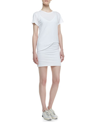 Toasta Short-Sleeve Tee Dress