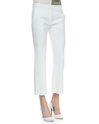 Benetta Ankle-Cropped Pants