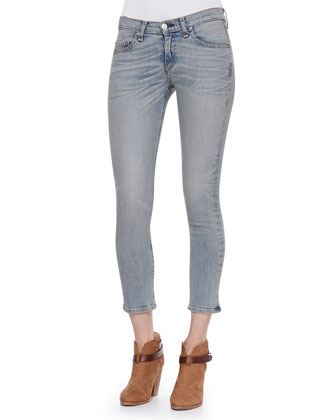 The Capri Skinny Denim Pants
