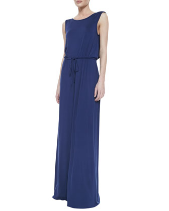Kurt Draped-Back Dress, Women's