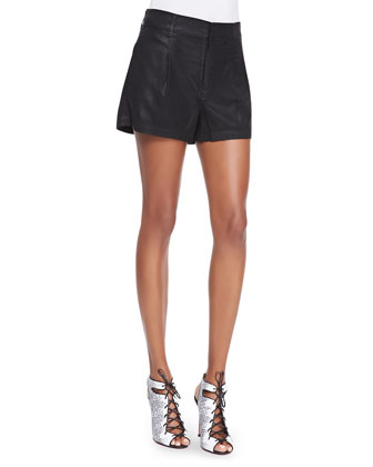 Soft Drapey Twill Relaxed Shorts