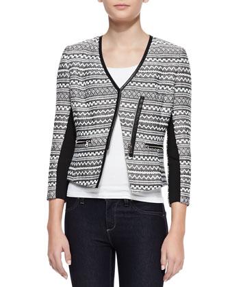 Femme Fancy Tweed Jacket