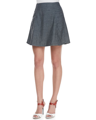 Sune Pleated Short Skirt