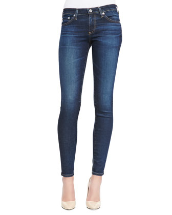 Absolute Skinny Cropped Jeans, 3 Years Propell Blue