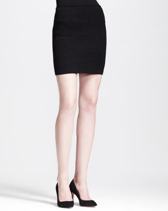 Filree P Evian Stretch Pencil Skirt
