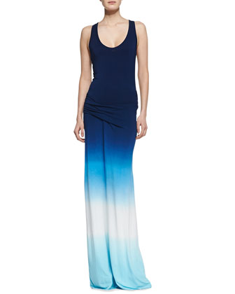 Hamptons Racerback Ombre Maxi Dress