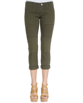 Surplus Military Cropped Skinny Jeans