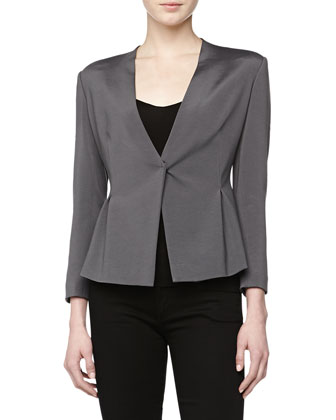 V-Neck Cardigan Jacket, Geode