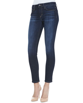 Faded-Wash Skinny Jeans, Rikki