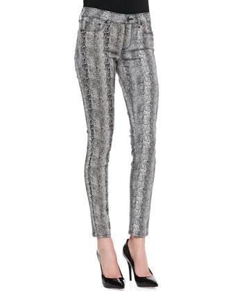 Verdugo Ultra Skinny Pants, Python