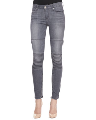 Demi Skinny Moto Jeans, Hart