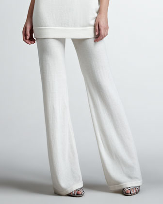 Cashmere Lounge Pants, Vellum