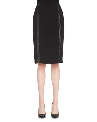 Raven Pencil Skirt