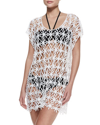 Field of Daisies Sheer Coverup