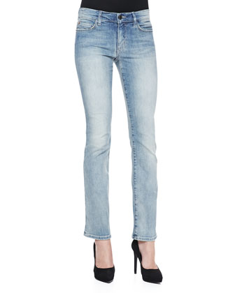 Rochelle Slim Boot-Cut Jeans, 31