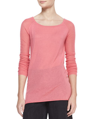 Long-Raglan-Sleeve Top,