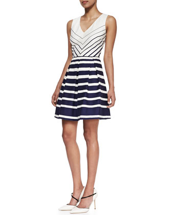 The Maui Striped Dress