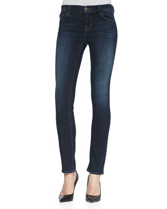 Mid-Rise Skinny-Leg Jeans