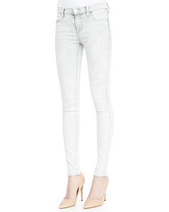 910 Silver Sky Low-Rise Skinny Jeans