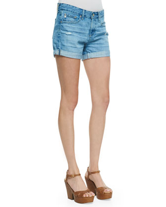 Hailey Ex-Boyfriend Roll-Up Shorts, Evasion