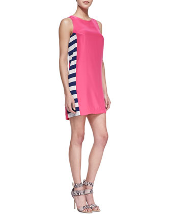 Wayfair Side-Stripe Shift Dress