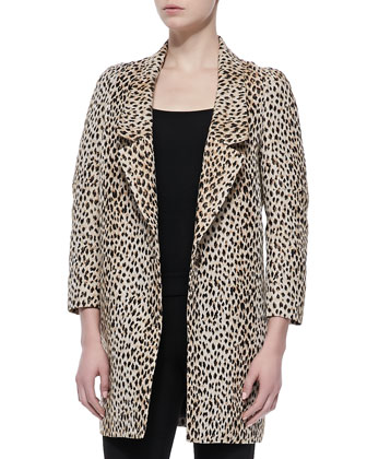 Britta Animal-Print Jacket & Lupa Cropped Leggings
