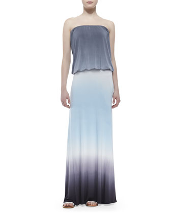Sydney Jersey Strapless Maxi Dress
