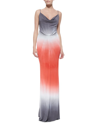 Lavina Ombre Jersey Maxi Dress