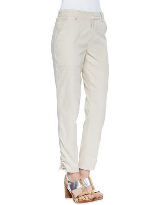 In A Trance Drawstring-Cuff Pants