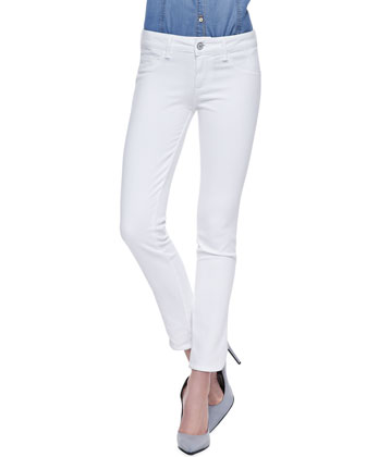 Sterling Street Optic White Skinny Jeans