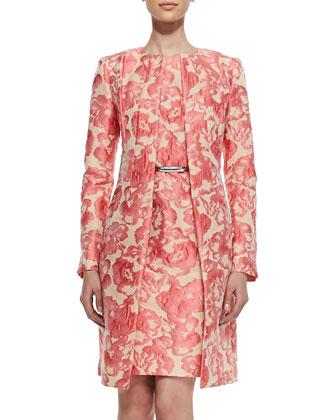 Roland Embroidered Floral Jacket